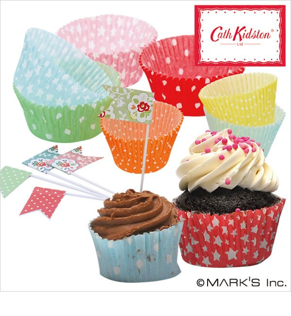 Cupcake Confection カップケーキライナー&ピックセット / キャス・キッドソン Cath Kidston【エディト・トロワ・シス・サンク/EDITO 365 レディス 食器・キッチングッズ 柄1 ルミネ LUMINE】