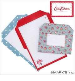 【エディト・トロワ・シス・サンク/EDITO 365】 Fold&Mail Stationery メモパッド/Cath Kidston キャス・キッドソン [3000円(税込)以上で送料無料]