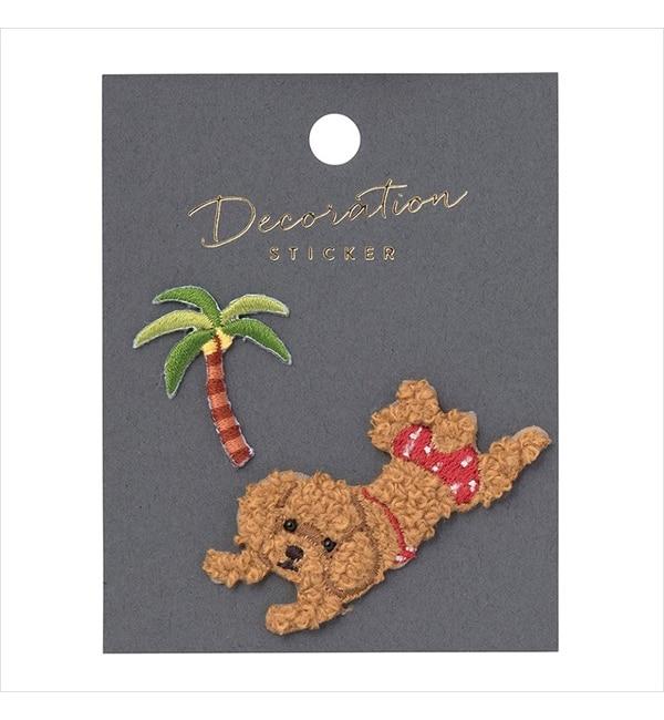 アイルミネで買える「【エディト・トロワ・シス・サンク/EDITO 365】 【店頭人気】刺繍ステッカー・アニマル」の画像です。価格は572円になります。