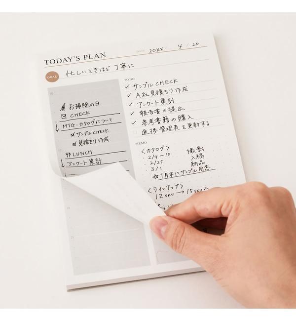 【エディト・トロワ・シス・サンク/EDITO 365】 プランニング用ノートパッド・1日1ページ