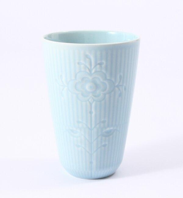 【ブルー バイ ロイヤル コペンハーゲン/BLUE by ROYAL COPENHAGEN】 【フラワーエンブレム】フリーカップ ブルーローズ [3000円(税込)以上で送料無料]