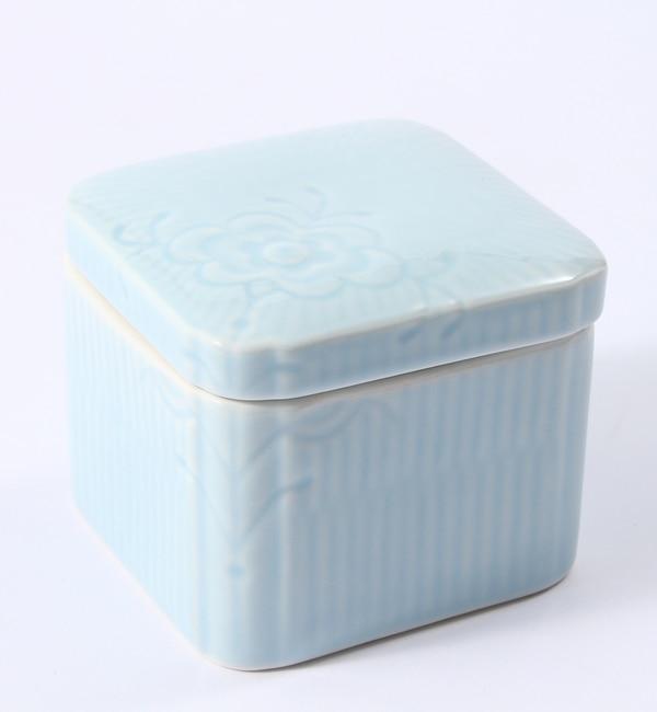 【ブルー バイ ロイヤル コペンハーゲン/BLUE by ROYAL COPENHAGEN】 【フラワーエンブレム】ボックス ブルーローズ [送料無料]