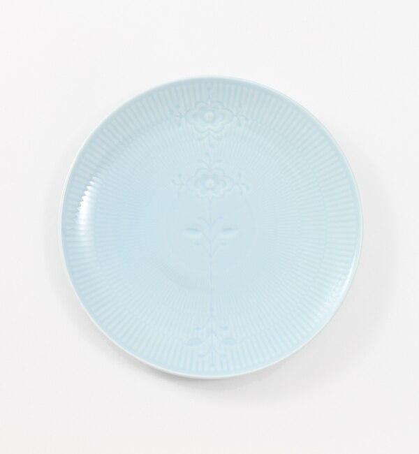 【ブルー バイ ロイヤル コペンハーゲン/BLUE by ROYAL COPENHAGEN】 【フラワーエンブレム】クーププレート ブルーローズ 23cm [送料無料]