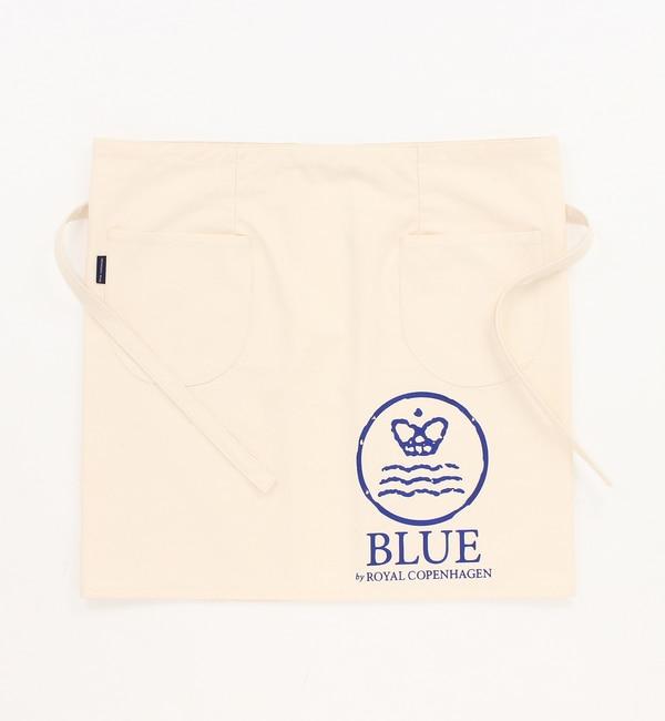 カフェエプロン【ブルー バイ ロイヤル コペンハーゲン/BLUE by ROYAL COPENHAGEN】