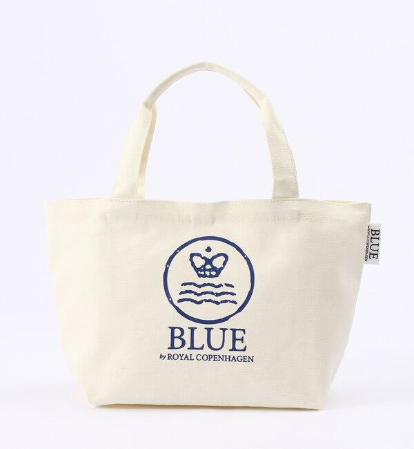 【ブルー バイ ロイヤル コペンハーゲン/BLUE by ROYAL COPENHAGEN】 トートバッグ S ホワイト [3000円(税込)以上で送料無料]