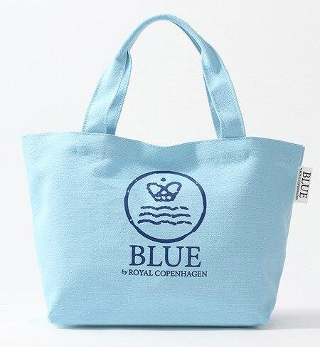 【ブルー バイ ロイヤル コペンハーゲン/BLUE by ROYAL COPENHAGEN】 トートバッグ S ライトブルー [3000円(税込)以上で送料無料]