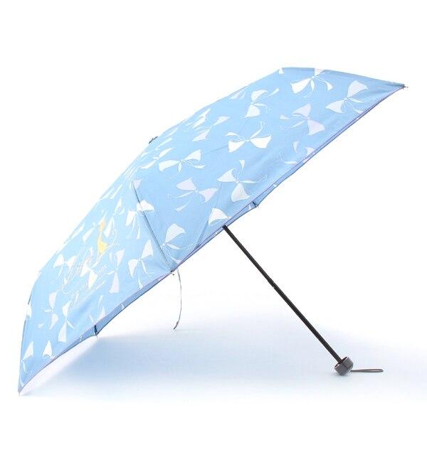 【ボン・フェット/Bonnes Fetes】 【店頭人気】【晴雨兼用】リルキャットリボン・アンブレラ/ショート