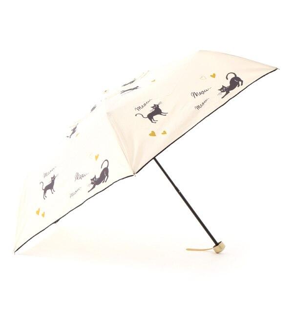 【ボン・フェット/Bonnes Fetes】 【晴雨兼用】ポージングキャット・アンブレラ/ショート