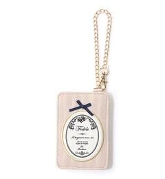 【メランジェマガザン/MelangerMagasin】Emblemeパスケース[3000円(税込)以上で送料無料]
