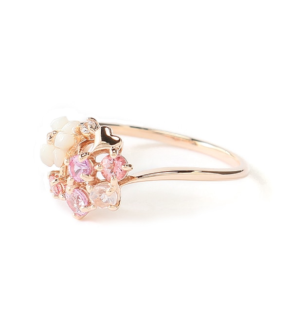 【サマンサティアラ/Samantha Tiara】 Flower Bouquet リング