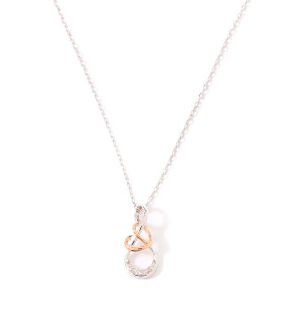 【サマンサティアラ/Samantha Tiara】 Infinity Love knot(ネックレス)