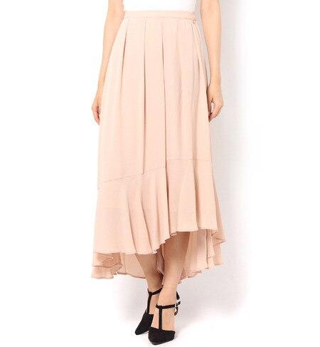 【アンド クチュール/And Couture】 PeダブルGCイレギュラーヘムスカート [送料無料]