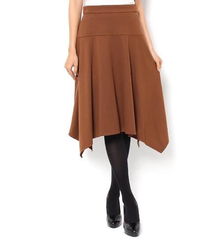 【アンド クチュール/And Couture】 【andGIRL11月号掲載】イレギュラーヘムスカート [送料無料]
