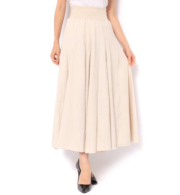 【アンドクチュール/And Couture】 コーデュロイロングスカート
