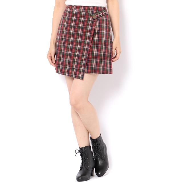 【レディアゼル/REDYAZEL】 オリジナルチェックミニスカート