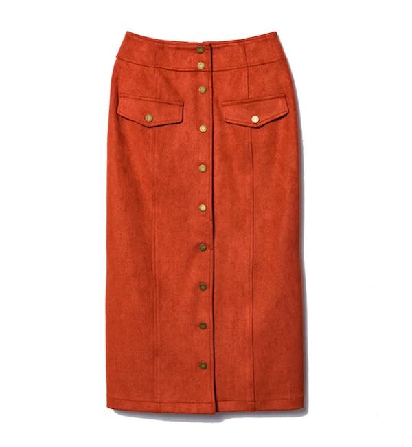 【レディアゼル/REDYAZEL】 ニットピケロングタイトスカート