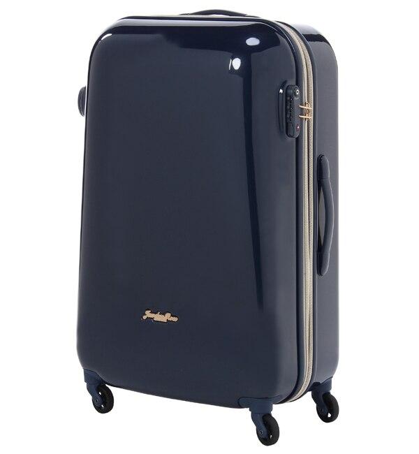 【ジュエルナローズ/Jewelna Rose】 スーツケース 丸いシルエットがかわいい キャンディポケットL エキスパンド仕様 39873