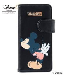【ジュエルナローズ/Jewelna Rose】 キッシング 『ミッキー&ミニー』 iPhone6/6S専用 手帳型モバイルケース / 33338 [送料無料]
