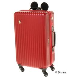 <アイルミネ>【ジュエルナローズ/Jewelna Rose】 ≪ジュエルナローズ≫カレッジ・ミッキー型ハンドルカバー付きスーツケース/06039画像