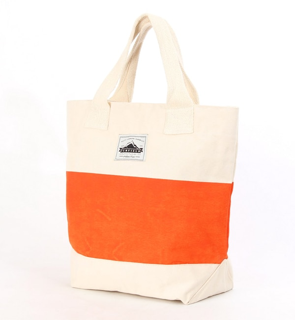 【アトモスガールズ/atmos girls】 PENFIELD x atmos PRINTED CANVAS TOTE