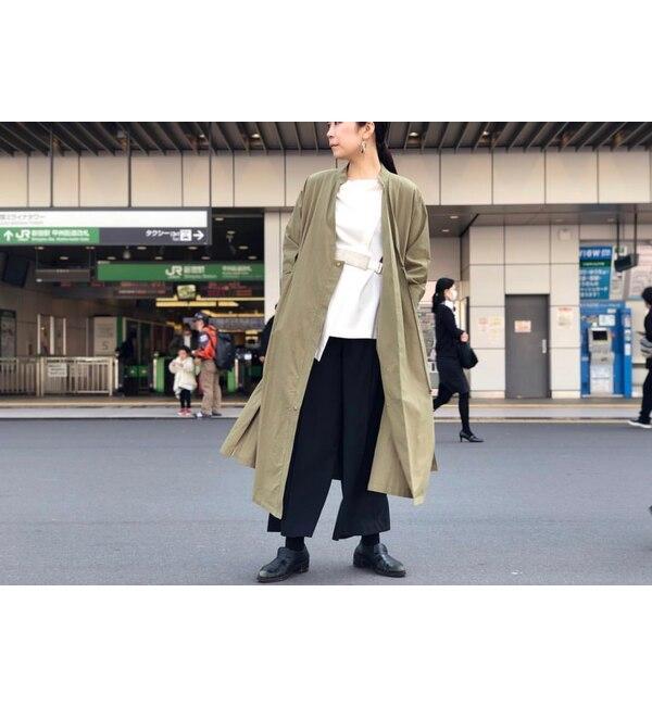 【アンティグラヴィテ/Antigravite】 綿ツイル・羽織ワンピース