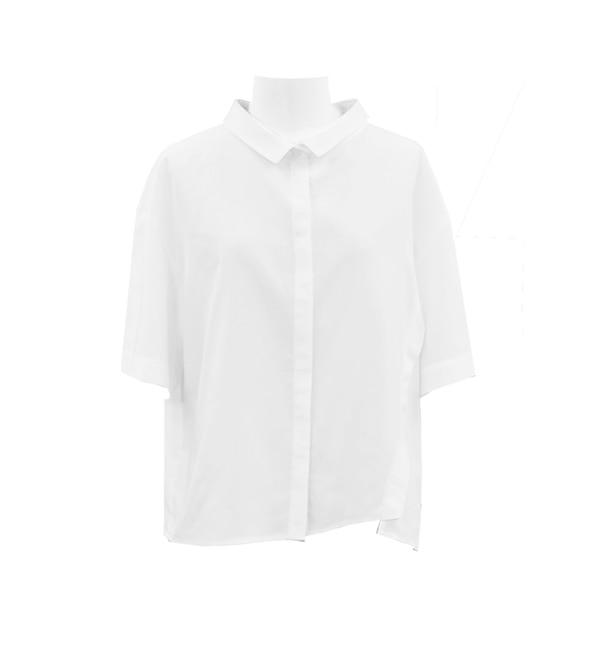 【アンティグラヴィテ/Antigravite】 スパンローン 抜け衿シャツ