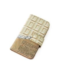 【ヒッチハイク/HITCH HIKE】 板チョコ手帳型iPhoneケース [3000円(税込)以上で送料無料]