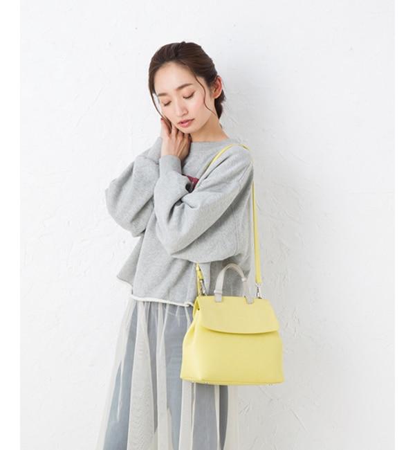 【ヒッチハイク/HITCH HIKE】 slim flap 2way bag