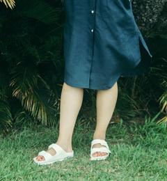 ■人気モデルEVA■ARIZONA/アリゾナ EVA ホワイト【ビルケンシュトック/BIRKENSTOCK レディス サンダル ホワイト ルミネ LUMINE】