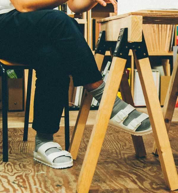 ■店頭人気■ARIZONA/アリゾナ EVA ホワイト(MEN)【ビルケンシュトック/BIRKENSTOCK メンズ サンダル ホワイト ルミネ LUMINE】