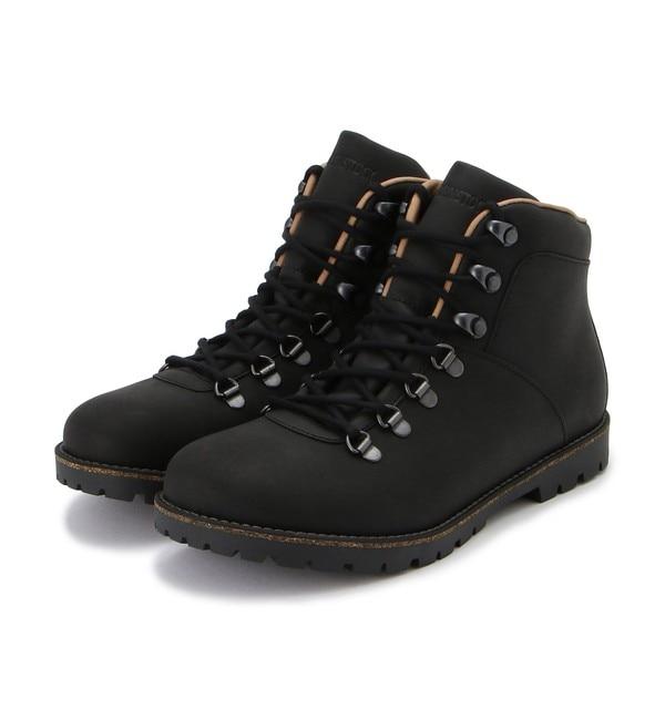 メンズファッションなら 【ビルケンシュトック/BIRKENSTOCK】 ジャクソン/ブラック ヌバック/ブーツ メンズ/JACKSON