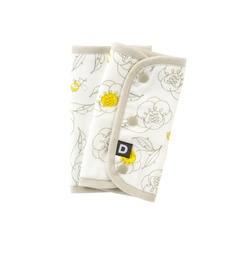 【ダッドウェイ/DADWAY】 6重ガーゼベルトカバー/ビーフラワー [3000円(税込)以上で送料無料]