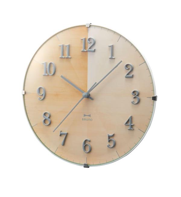 【イデアセブンスセンス/IDEA SEVENTH SENSE】 2WAYグラデーションウッドクロック