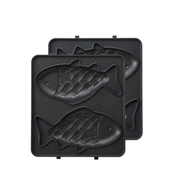 【イデアセブンスセンス/IDEA SEVENTH SENSE】 ホットサンドメーカーシングル用おさかなプレート