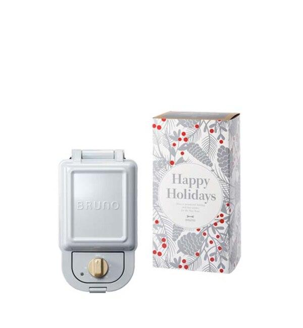 【イデアセブンスセンス/IDEA SEVENTH SENSE】 《Happy Holidays》ホットサンドメーカー シングル ギフトセット