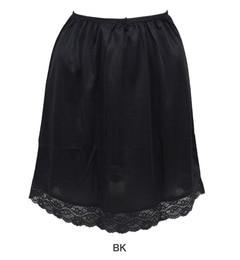 【アンテシュクレ/intesucre】 [intesucre]裾レース付きペチコート45丈(M、L) [3000円(税込)以上で送料無料]