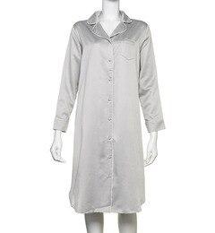 【シュット インティメイツ/Chut! INTIMATES】 COTTON SATIN SHIRT DRESS (C184) ルームウェア パジャマ [送料無料]