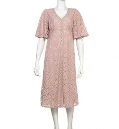 【シュット インティメイツ/Chut! INTIMATES】 LACY LONG DRESS (C188) ルームウエア / パジャマ レーシィ ロング ドレス [送料無料]