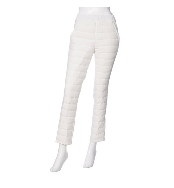 【ジュウナナドシー バイ ブロンドール/17℃ by Blondoll】 ダウン80%パンツ ボーダー H/パンツ