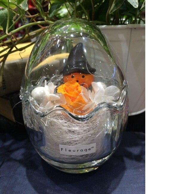 【フルラージュアン/fleurage un】 ハロウィン プリザーブドフラワー入りアレンジメント [3000円(税込)以上で送料無料]