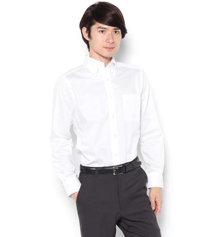 【パブス/PUBS】 「Cricket」オリジナル 綿100%イージーケア加工 ツイル ボタンダウンカラーシャツ [送料無料]