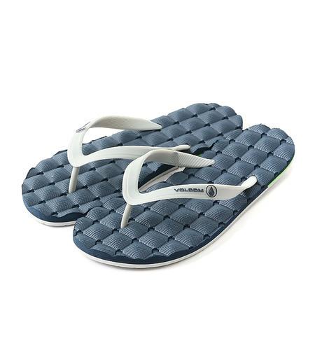 【サンアイミズギラクエン/三愛水着楽園】 【VOLCOM】 Recliiner Rubber Sandal メンズビーチサンダル [送料無料]