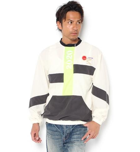 【ガカモレ/GUACAMOLE】 フロントポケット付き配色デザインプルオーバー [送料無料]