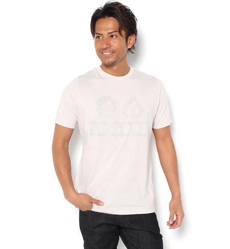 【ガカモレ/GUACAMOLE】 フェイス&ロゴデザインクルーネック半袖Tシャツ [送料無料]
