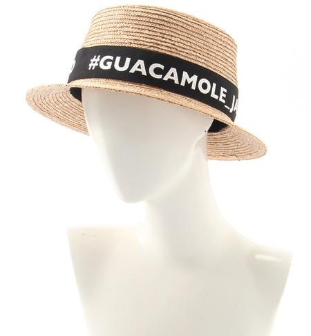 【ガカモレ/GUACAMOLE】 ロゴリボン巻きカンカン帽 [送料無料]