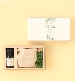 【ココルミネストア/KOKO LUMINE STORE】 大分県の山の香りを小箱に閉じ込めました【桐箱ギフトボックス小/ 六月八日 久恒山林】 [3000円(税込)以上で送料無料]