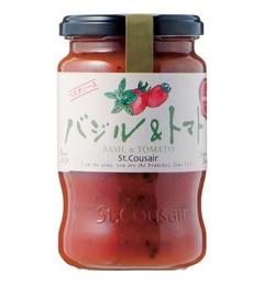 【サンクゼール/St.Cousair】 バジル&トマト(290g) [3000円(税込)以上で送料無料]