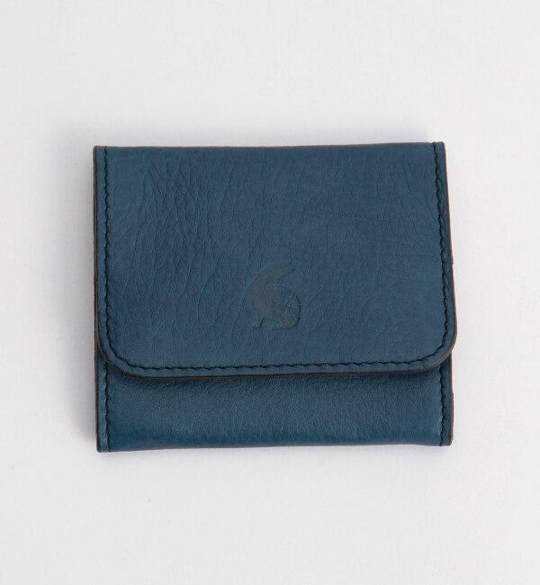 【キヌヤ/絹や】 藍革 コインケース