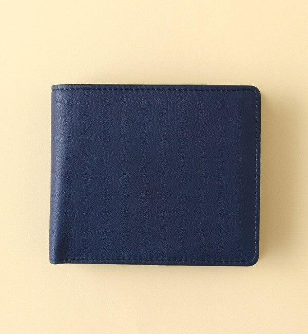 【キヌヤ ココルミネ/絹や KOKOLUMINE】 【手染め】阿波藍 財布(二つ折り) [送料無料]