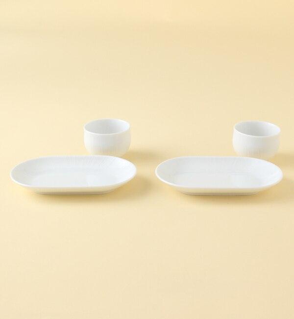 【ミヤマショッキテン/深山食器店(KOKO LUMINE)】 fucube 煎茶揃 白磁 [送料無料]